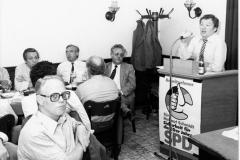 BW 1980 Versammlung Arbeits- und Sozialminister Friedel Farthmann