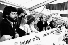 LW 1980 Ministerpräsident Johannes Rau im Revierpark Mattlerbusch