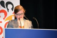 Sarah Philipp MdL  führt in das  Thema ein